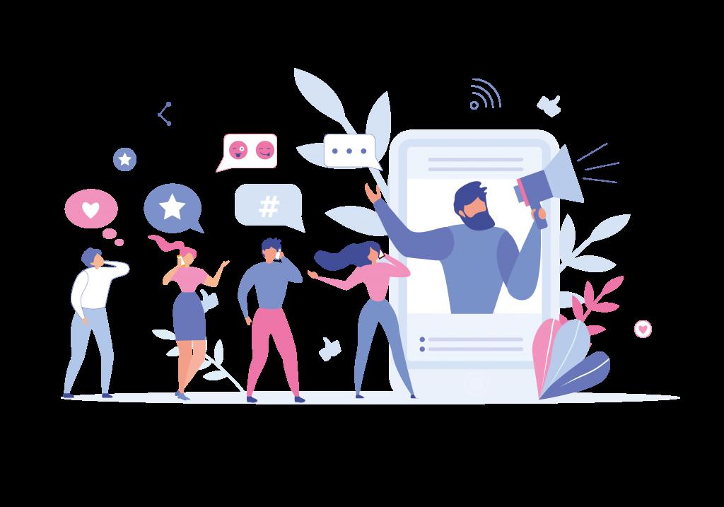 The Purple Pepper Social Media
