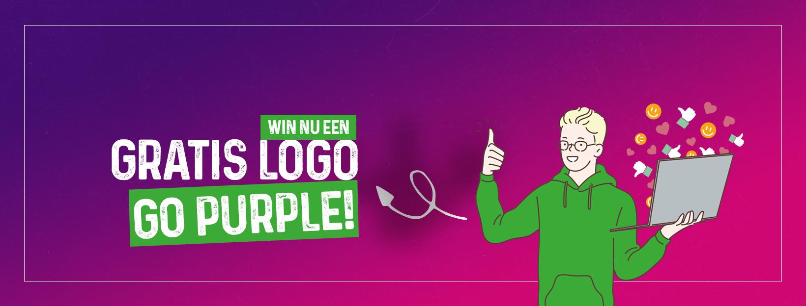 The Purple Pepper win een logo